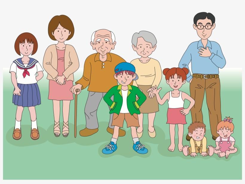 ✓ Terbaik Gambar Foto Keluarga Besar Kartun