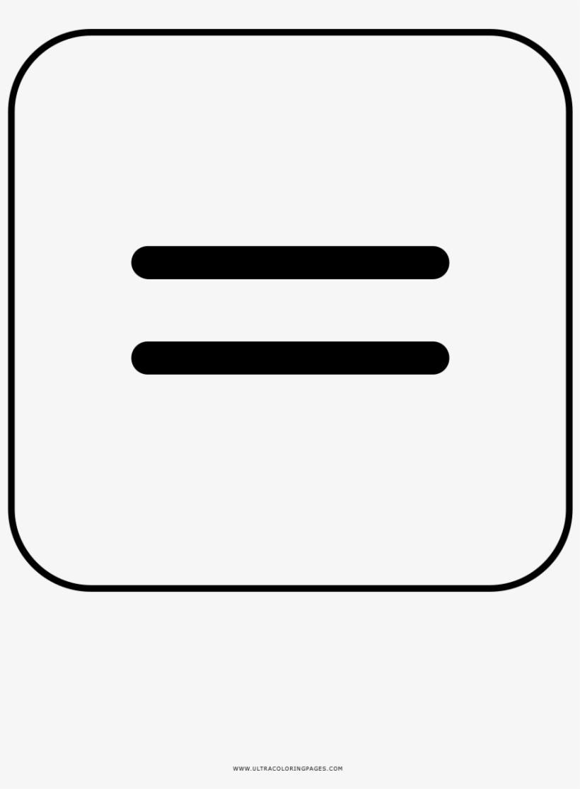 hight resolution of equal sign coloring page equals sign