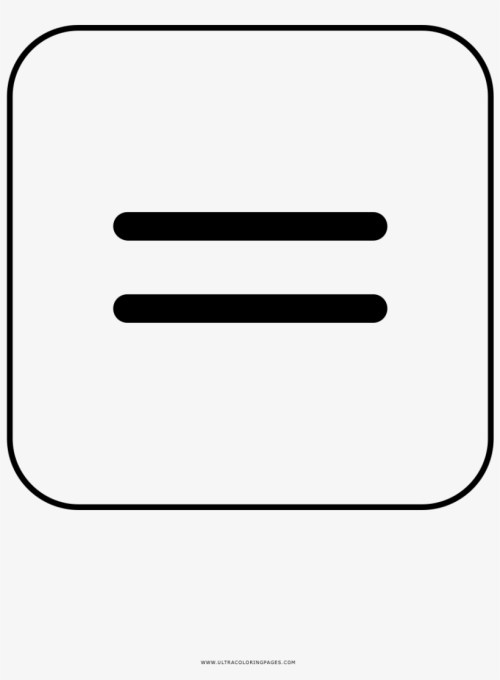 small resolution of equal sign coloring page equals sign