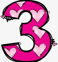 numeros matematik pinterest number clip art cute number 3 clipart [ 820 x 960 Pixel ]