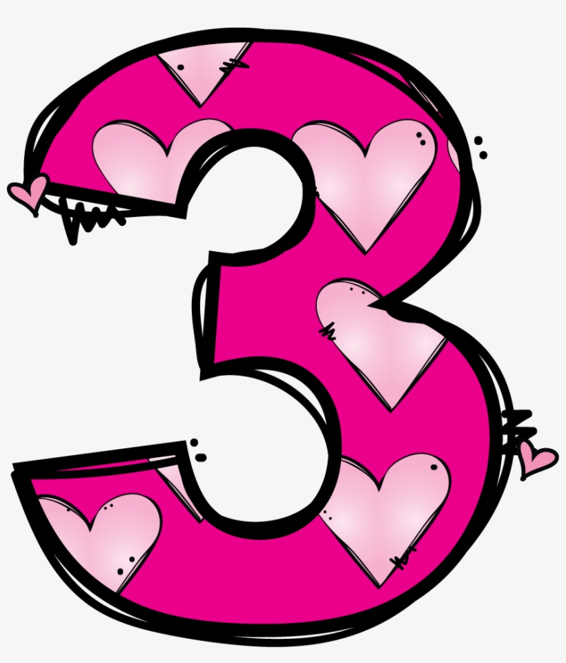 medium resolution of numeros matematik pinterest number clip art cute number 3 clipart