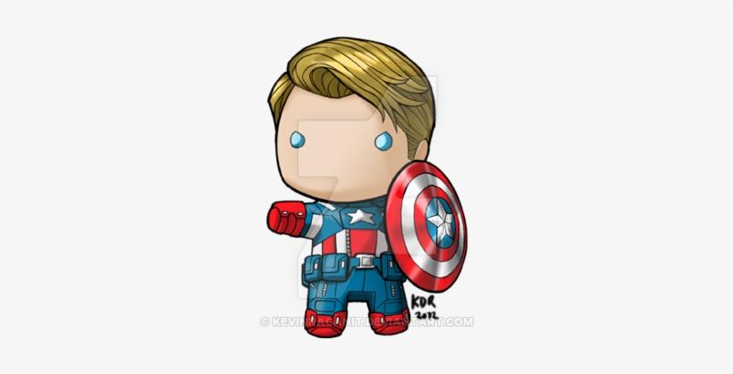 Ironman Mkvii Tony Stark Chibi Fanart The Rest Of Capitan America Chibi Png Image Transparent Png Free Download On Seekpng