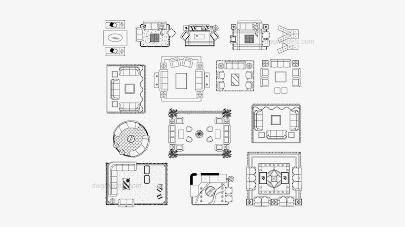 Furniture Living Room 3 Dwg Cad Blocks Free Download Living Room Furniture Dwg Png Image Transparent Png Free Download On Seekpng