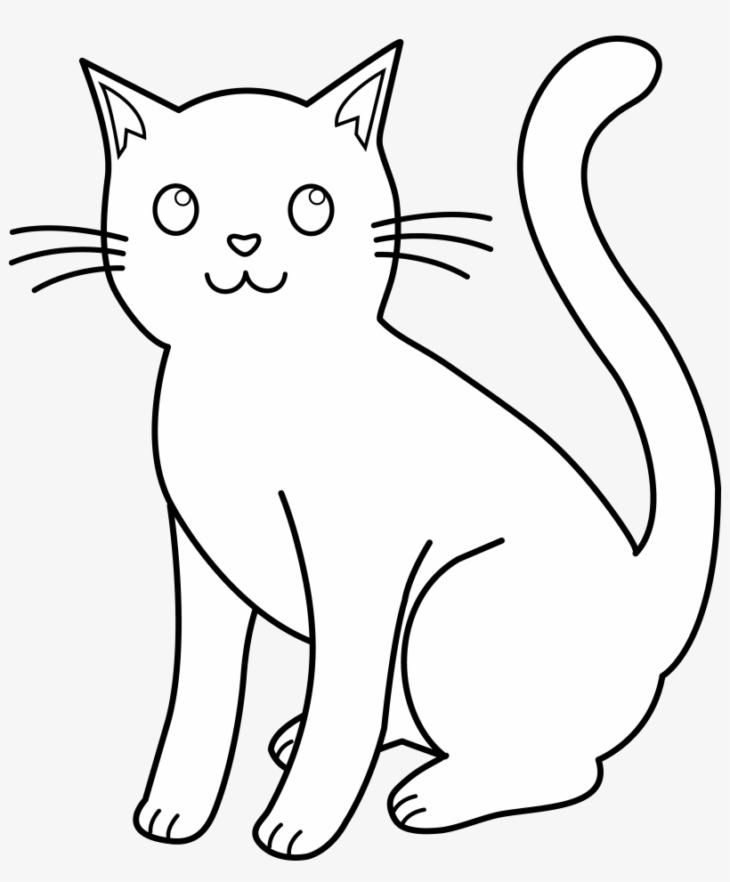 Outline Drawings Of Animals Free Download Clip Art Science Cat Ions Png Image Transparent Png Free Download On Seekpng