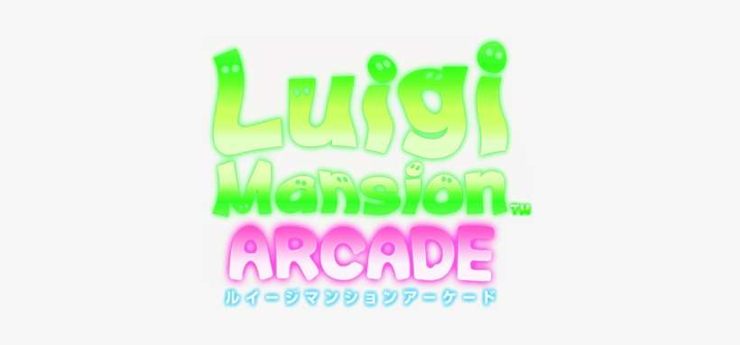 luigi mansion arcade png