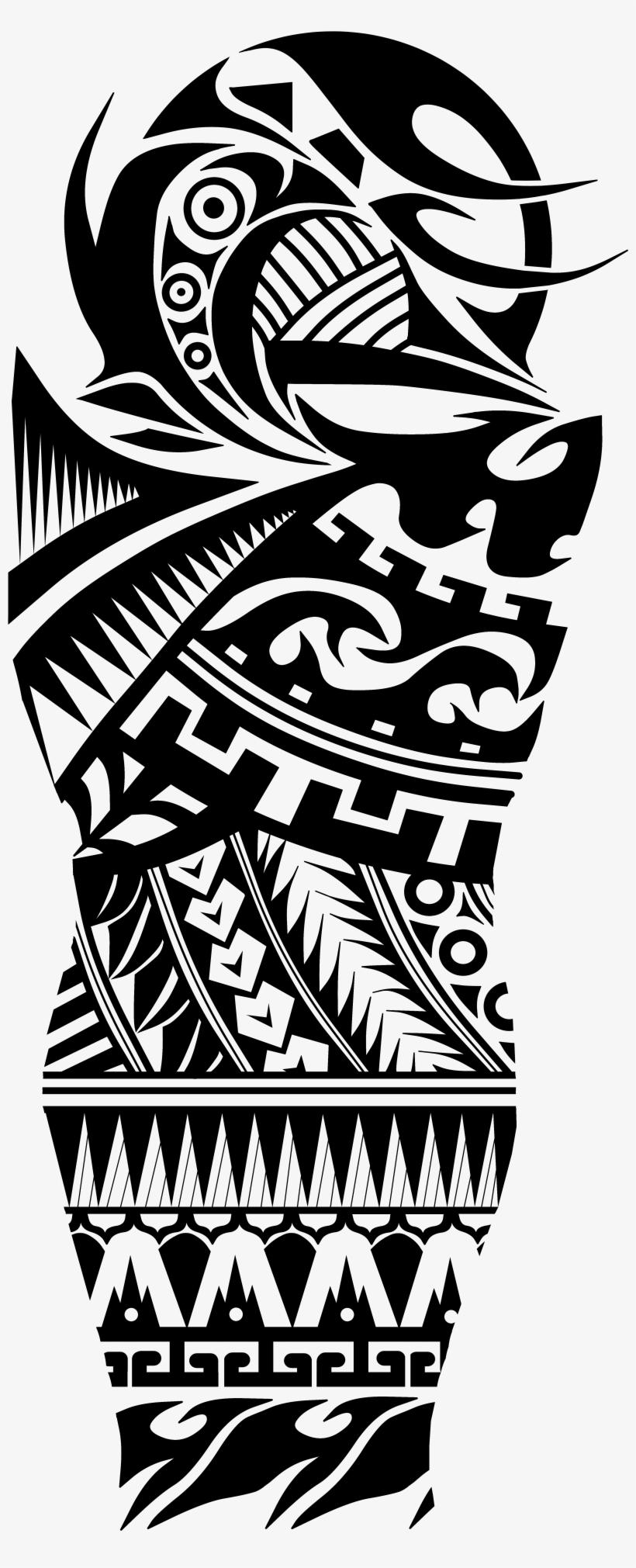 Danish Zehen Chest Tattoo Designs Png