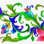 Bunga Raya Vector Png For Kids Gambar Batik Motif Flora
