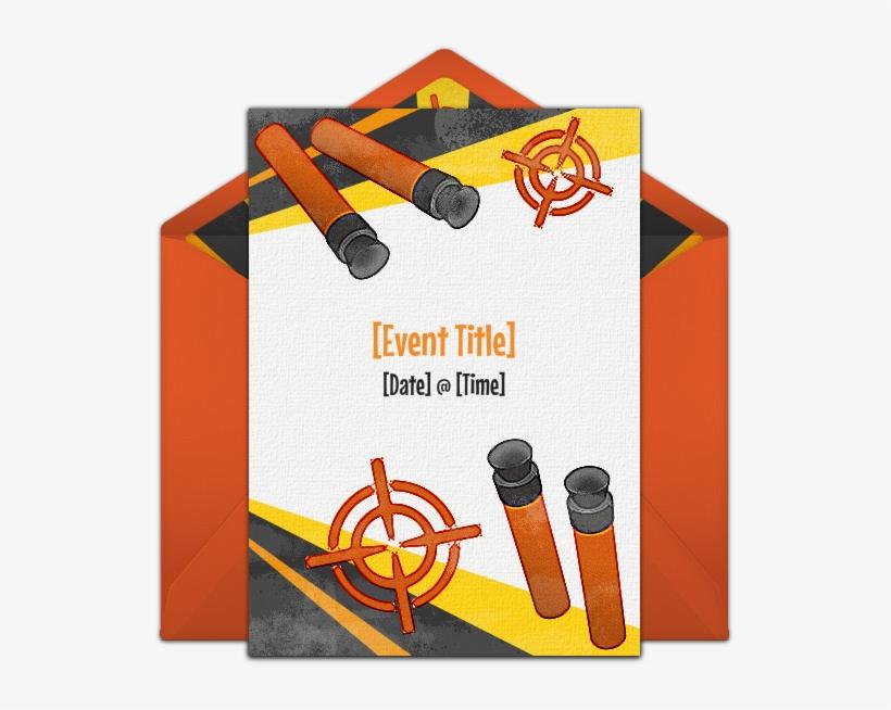 free printable nerf gun birthday party