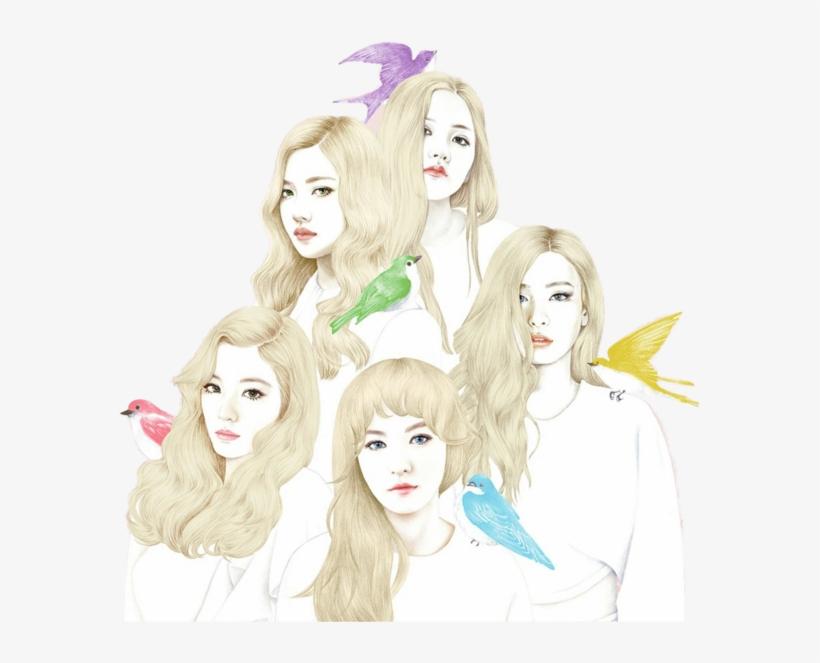 Red Velvet Ice Cream Cake Album Cover Png Image Transparent Png