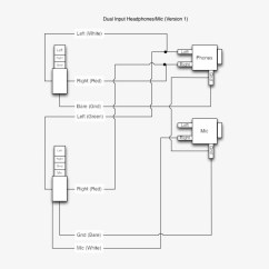 Headphone With Microphone Wiring Diagram 3 Way Dimming Switch Iphone Headphones Mic