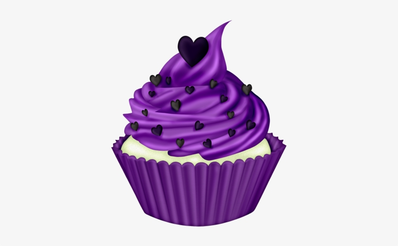 Wp Gf Cupcake Png Cup Cakes Clip Purple Cupcake Clipart Png Image