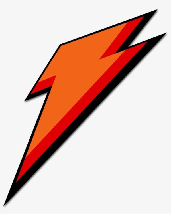Gatorade Black Lightning Bolt - Logo Transparent