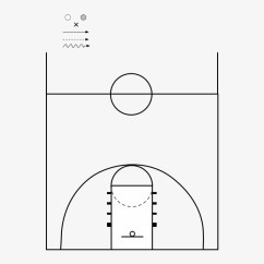Basketball Court Diagram With Notes Isuzu Nqr Alternator Wiring Png Image Transparent Free Download