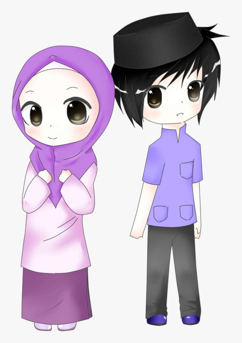 ✓ Terbaik Gambar Kartun Hijab Png