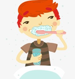 tooth brushing clip art cartoon teeth clip art washing face [ 820 x 1096 Pixel ]