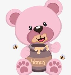 ursinha rosa mais pink teddy bear clipart [ 820 x 980 Pixel ]