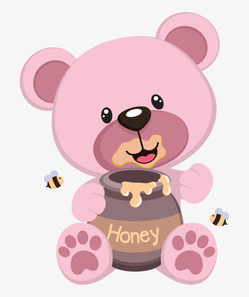 hight resolution of ursinha rosa mais pink teddy bear clipart