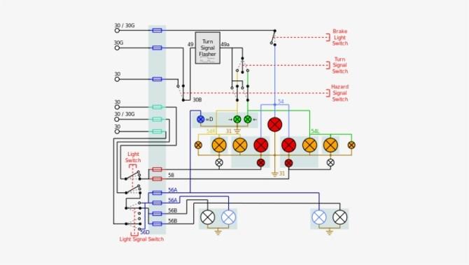mitsubishi l300 park light wiring diagram png image