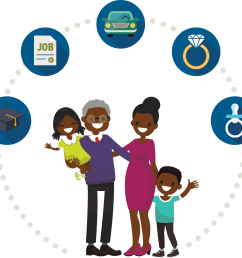 african american family clipart 1368x1275 png download [ 1368 x 1275 Pixel ]