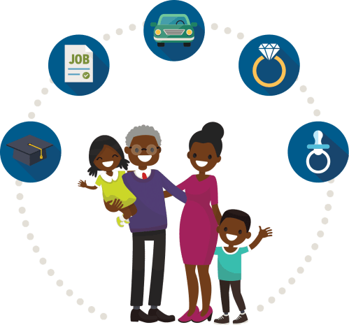 small resolution of african american family clipart 1368x1275 png download
