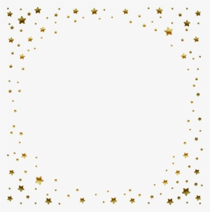 Star Pattern Png Gold Stars Border Png Png Image