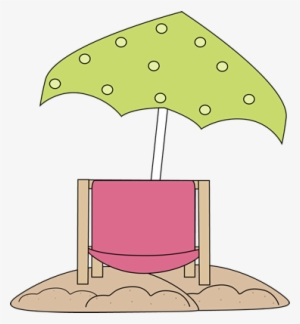 beach chair and umbrella clipart velvet stool clip art at clker pink png image under simple