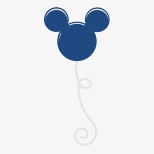 balloon svg mickey mouse silhouette