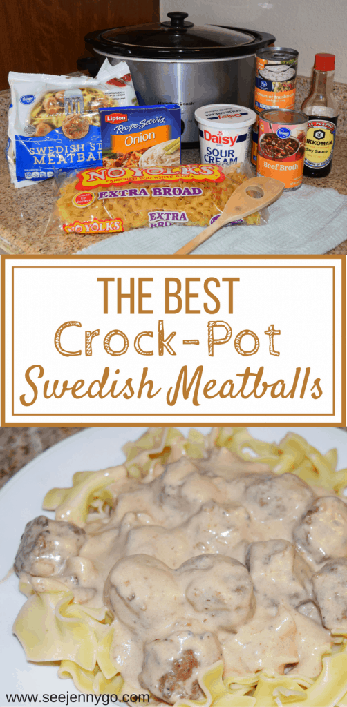 Crock pot swedish meatball recipe