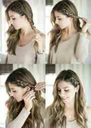 easy hairstyles short medium