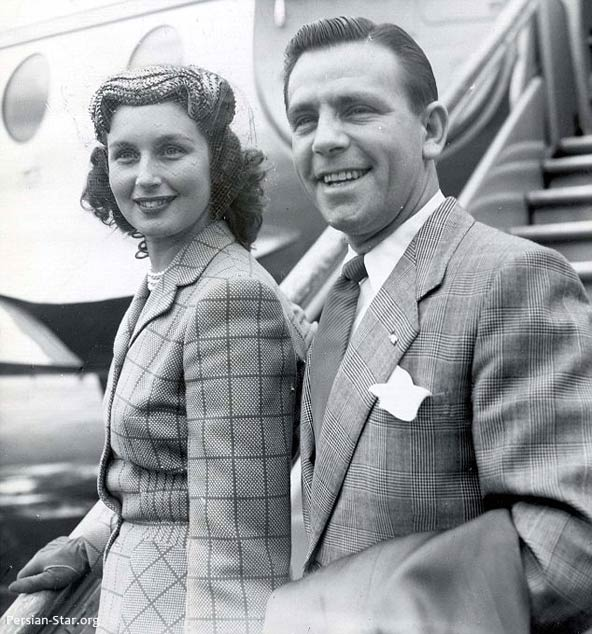 نورمن با همسرش فردا سیمپسون