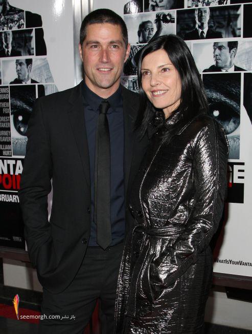 متیو فاکس و همسرش مارگاریتا رونچی