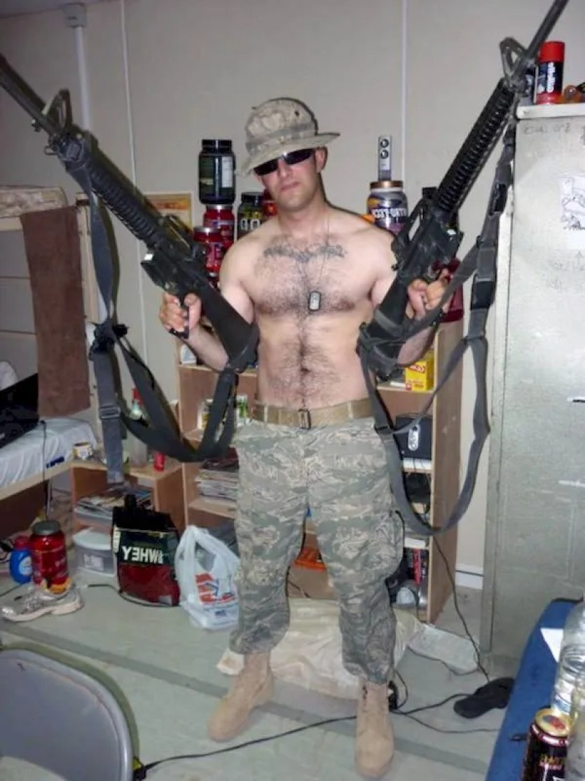 american soldier naked gay bf pics and videos rambo wannabe
