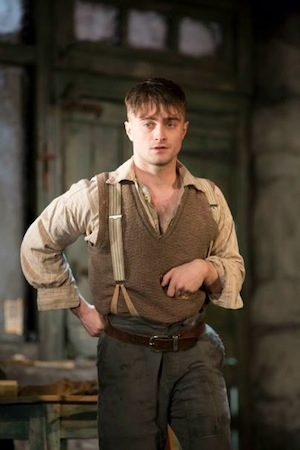 Radcliffe's performance in The Cripple of Inishmaan won him the Best Actor award.