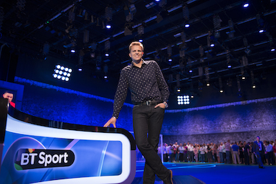 An apology by Jake Humphrey failed to stop a complaint to Ofcom. Image: BT