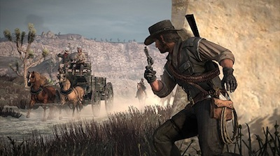Red Dead Redemption places players in the American west.