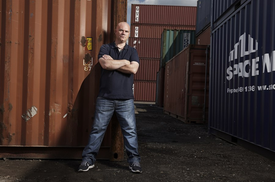 Storage Hunters UK - Dave - Picture shows: Mini Mile and Sean Kelly