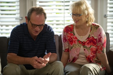 Meryl Streep and Tommy Lee Jones played a couple seeking marriage guidance in  Columbia Pictures' HOPE SPRINGS.