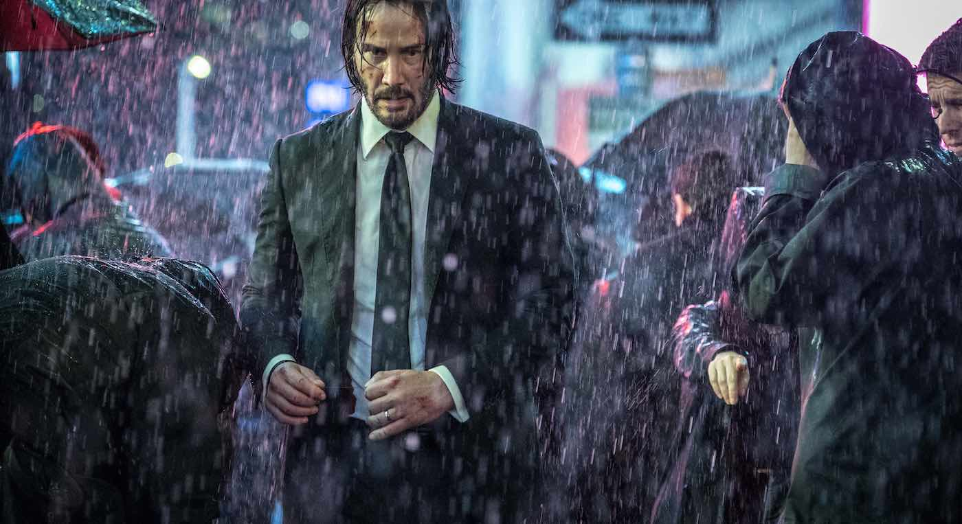 watch keanu reeves in a new clip from john wick chapter 3