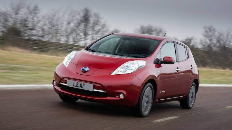 The Nissan Leaf. Image: Nissan.