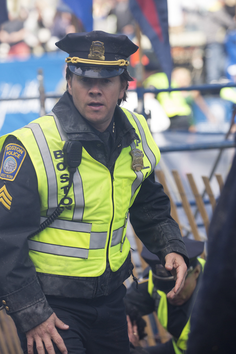 Mark Wahlberg in PATRIOTS DAY to be released by CBS Films and Lionsgate Films. Photo Credit: Karen Ballard