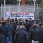 Εργολαβικοί των ΕΛΠΕ: Με μαζική συμμετοχή στην απεργία απάντησαν στις απειλές για απολύσεις