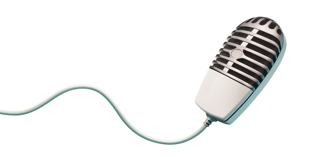 Microphone mouse