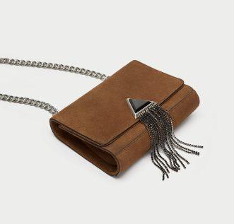 Zara Brown Leather Bag