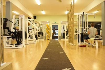 Eingangsbereich Gerätepark Seestern Fitnessclub Süd