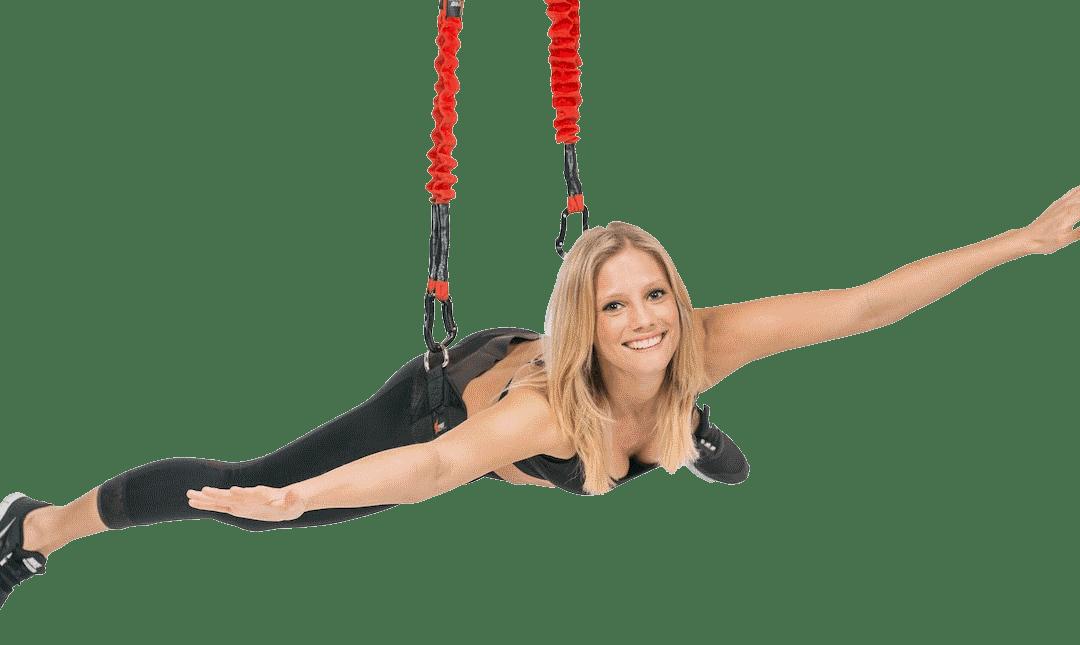 Bungee Fitness ist die 4te Dimension