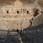 South Theatre at Jerash (Zairon / Wikimedia)