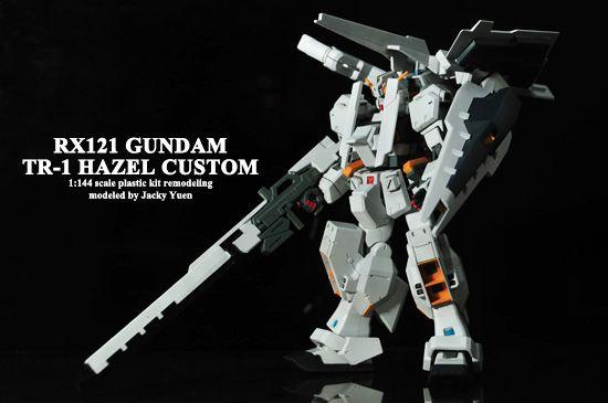 【GUNDAM】1:144 RX-121-1 TR-1 HAZEL CUSTOM(海茲爾高達) - 手工藝 - SeeWide
