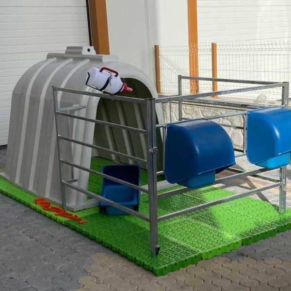 sefa demir hayvancılık tarım buzağı kulubesi barınağı (4)