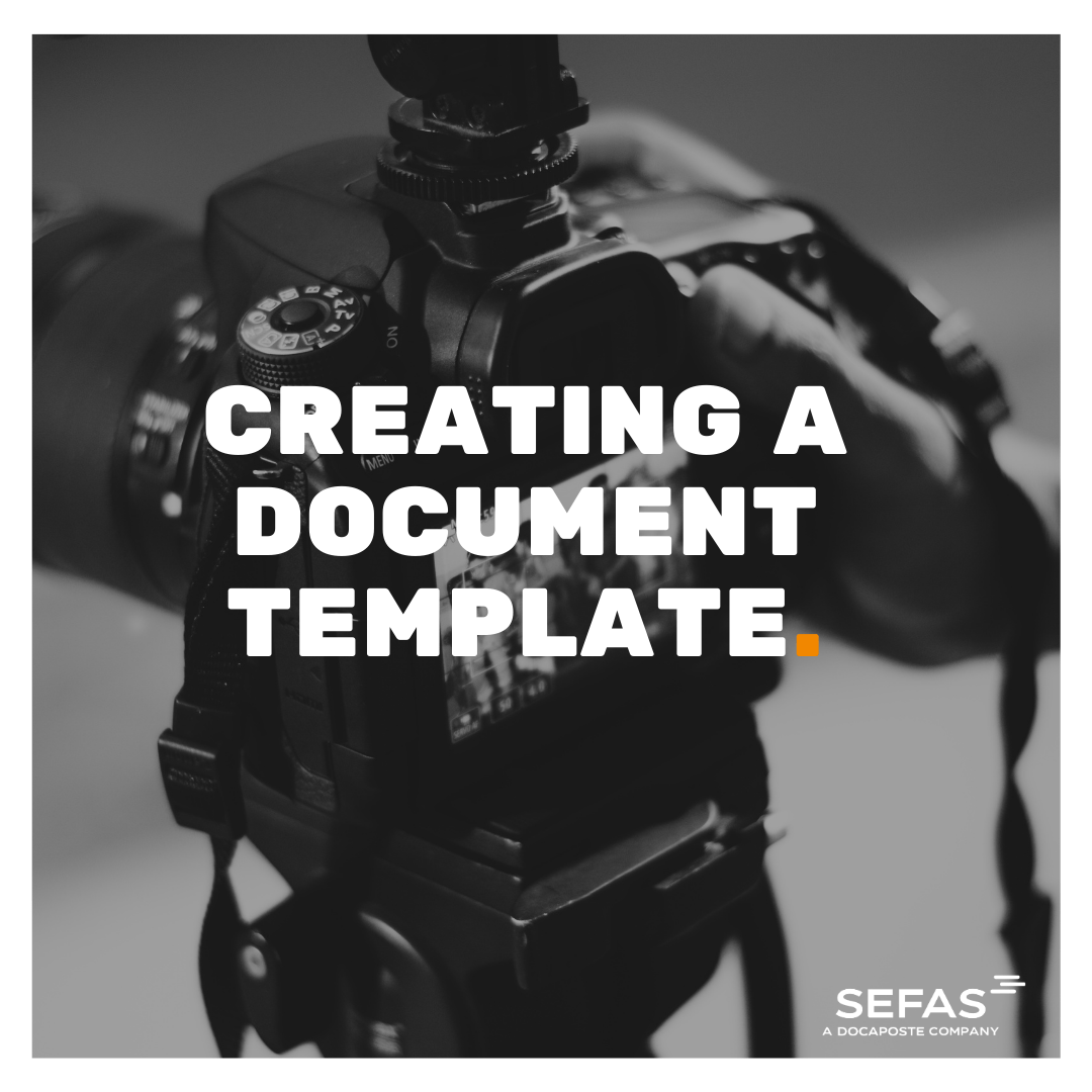 Creating a Document Template
