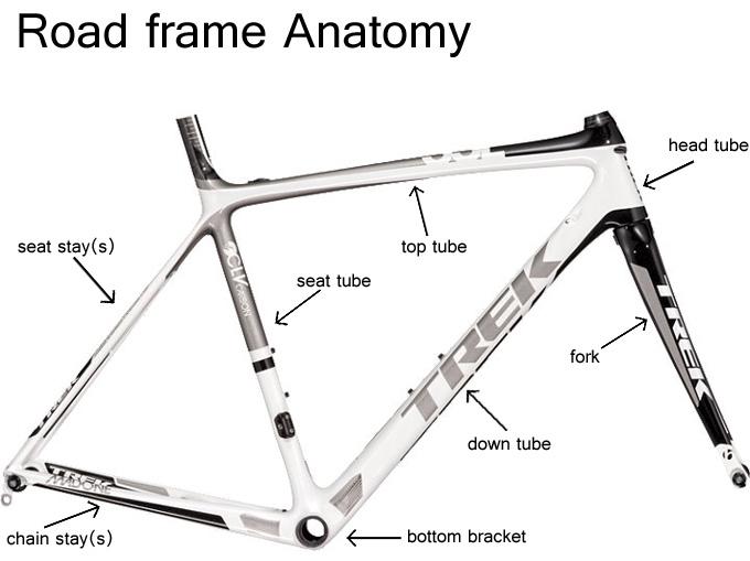 basic bicycle anatomy 101